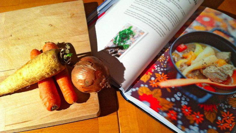 Ragout de veau aux abricots, panais et pommes de terre bio