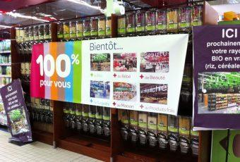 Des produits bio au détail dans mon Carrefour comme en biocoop