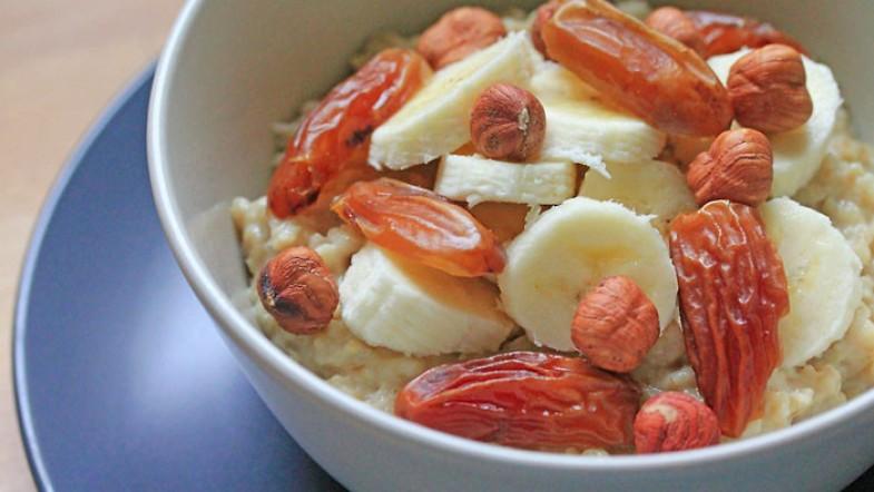Ce matin, c'est porridge