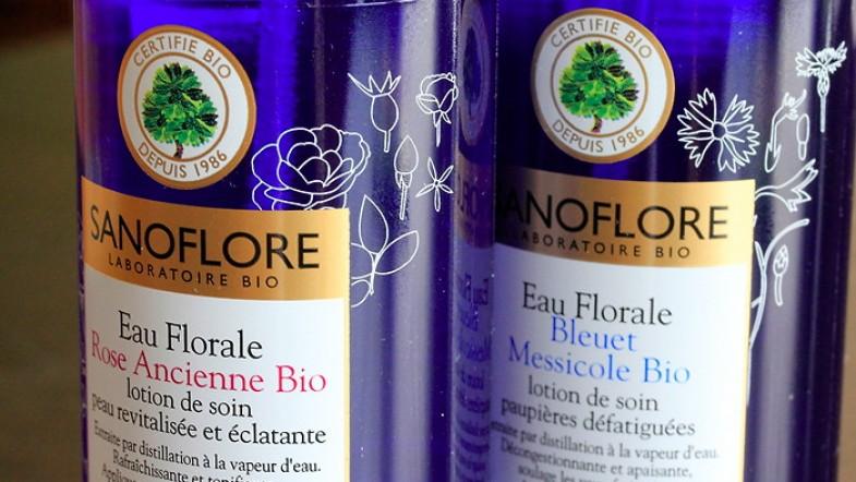 Pour une belle peau, utilises de l'eau florale bio ! (joli slogan non?)