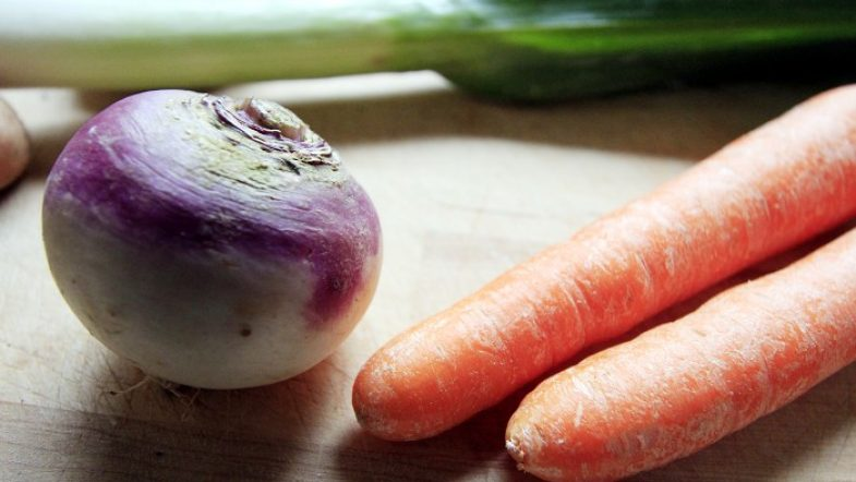 Je fais ma soupe de l'hiver aux bons légumes bio