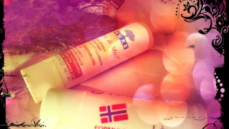 Mes sticks à lèvres: 1 de terminé, 1 nouveau vient le remplacer. Nuxe ou Neutrogena alors?