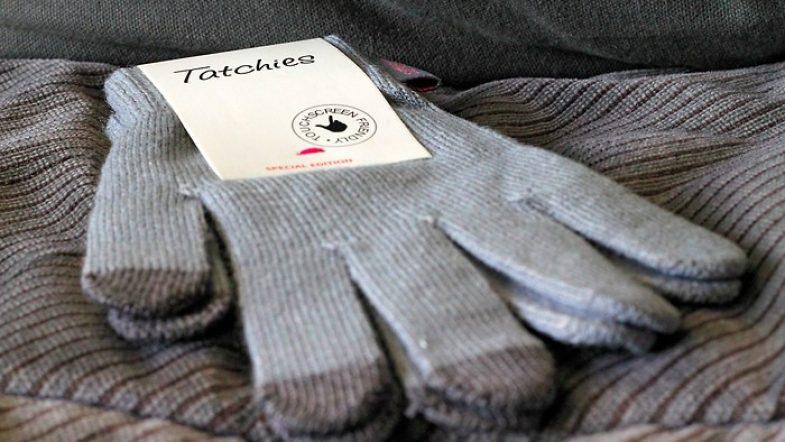 Des gants tactiles Tatchies pour écrire sur mon Iphone
