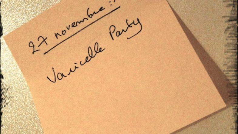 Je t'invite à ma varicelle party !