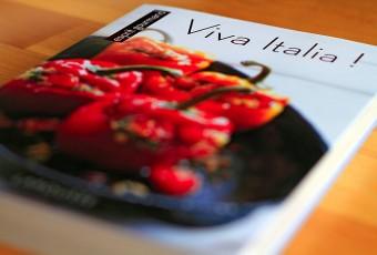«Viva Italia» ou le livre de recettes de cuisine Italienne de Larousse01