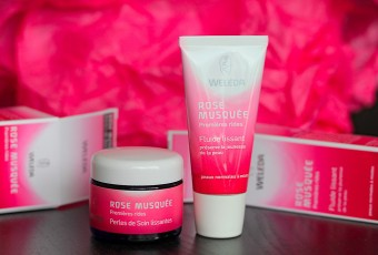 Une touche de rose, by Weleda