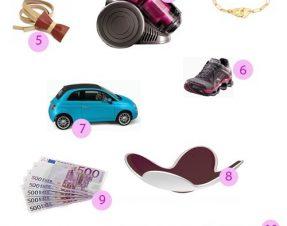 Ma wish list de cadeaux «utiles», si si, parfaitement